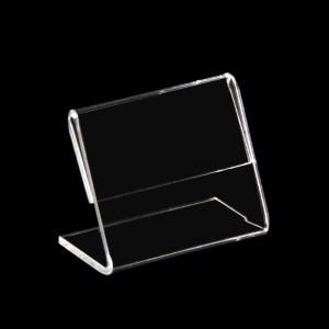 Preisschildhalter Acrylglas L-Form