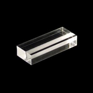 Preisschildhalter Acrylglas massiv