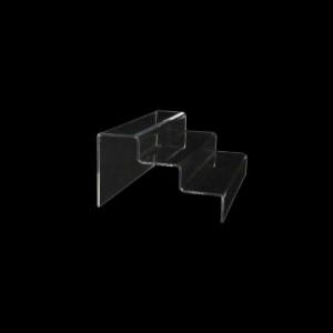 Acryltreppe, 3 Stufen 3x5 cm, 20 cm breit
