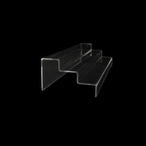 Acryltreppe, 3 Stufen 3x5 cm, 40 cm breit