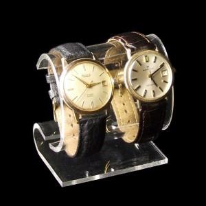 Uhrenständer für zwei Uhren