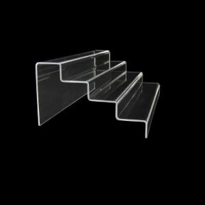 Acryltreppe, 4 Stufen 3x5 cm, 36 cm breit