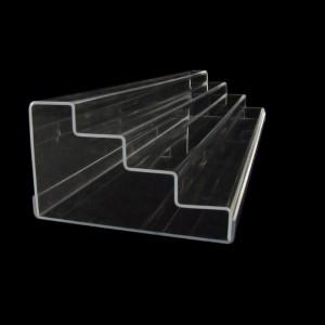 Acryltreppe, 76 cm breit, Boden