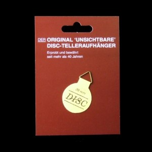 DISC-Telleraufhänger 30 mm, für Teller bis 10 cm Durchmesser