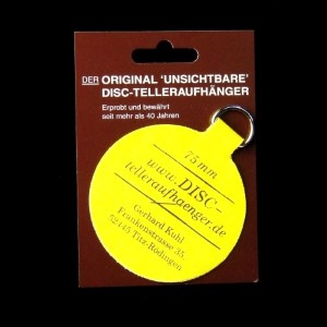 DISC-Aufhänger 75 mm, für Teller bis 20 cm