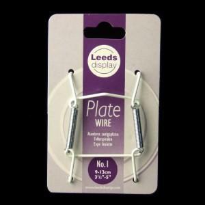 Drahtspiralen für Teller von 9 - 13 cm