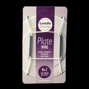 Drahtspiralen für Teller von 13 - 19 cm