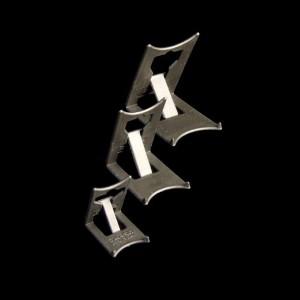 Klappständer schwarz in drei Größen