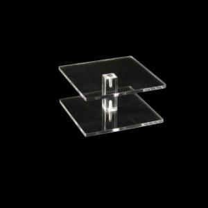 Vierkantsäulen 100 x 100 mm, 50 mm hoch, viereckig