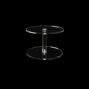 Vierkantsäulen Ø 150 mm, 100 mm hoch, rund