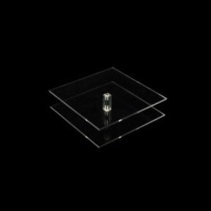 Vierkantsäulen 200 x 200 mm, 50 mm hoch, viereckig