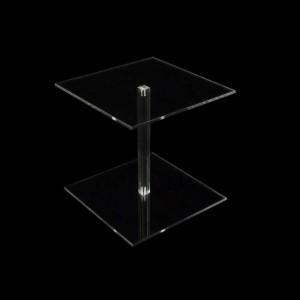 Vierkantsäulen 200 x 200 mm, 200 mm hoch, viereckig