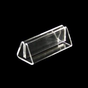 Menükartenhalter Klemme Acrylglas